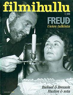 Filmihullu-1-2000-kansi. Kannen kuva: Freud