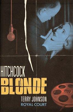 Hitchcock Blonde -näytelmätekstistä julkaistun pokkarin kansi